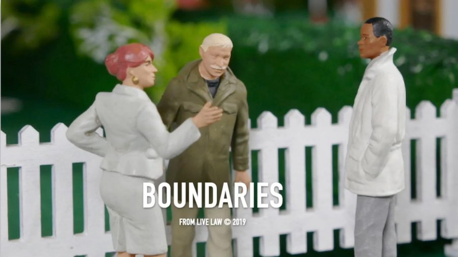 Live Law on Boundaries